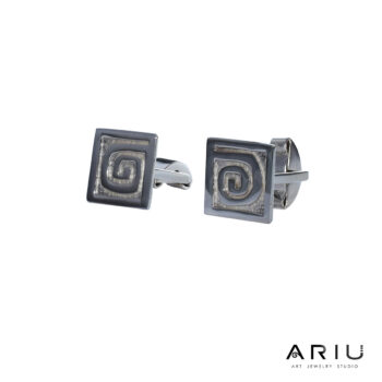 Ariu Collection - Spiral Cufflinks