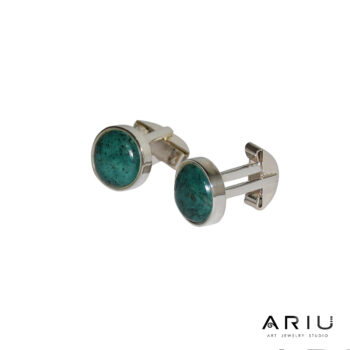 Ariu Collection - Amazon Cufflinks