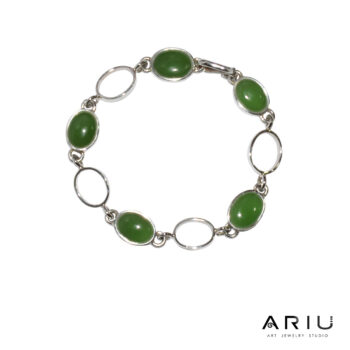Ariu Collection - Green Seed Bracelet
