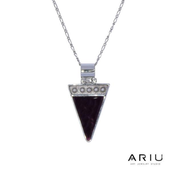 Ariu Collection - Pyramid Pendant