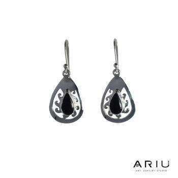 Ariu Collection - Dark Sun Earrings
