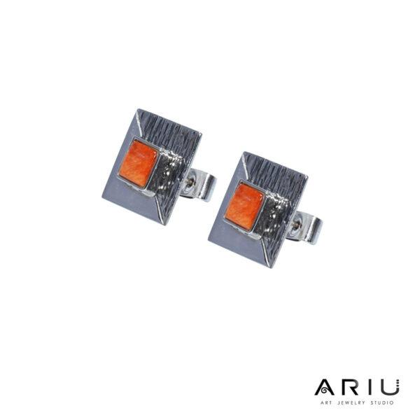 Ariu Collection - Cube Earrings