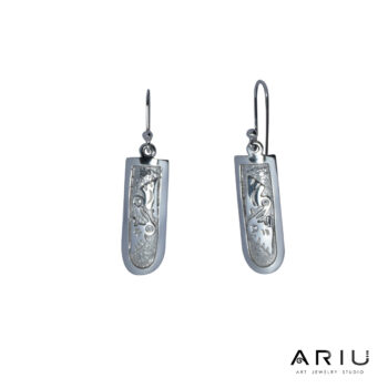 Ariu Collection - Pelicans Earrings