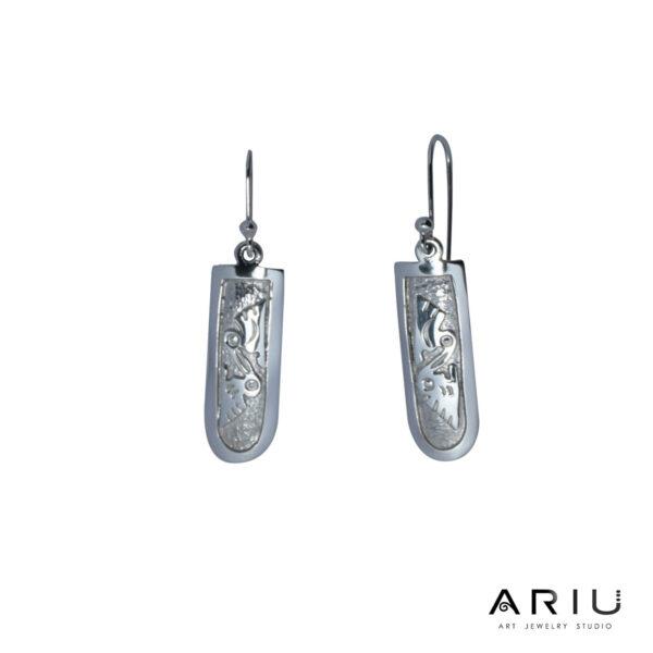 Ariu Collection - Pelicans Earrings