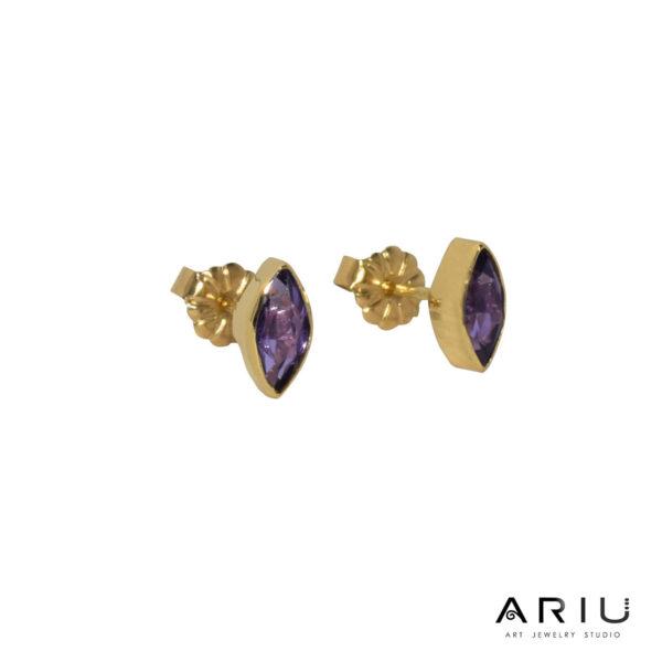 Ariu Collection - Puma's Eyes Earrings