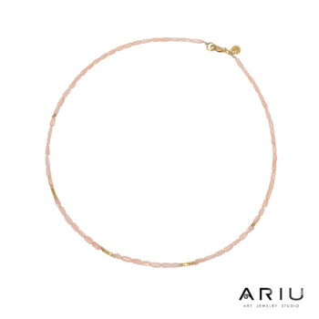 Ariu Collection - Rose Necklace