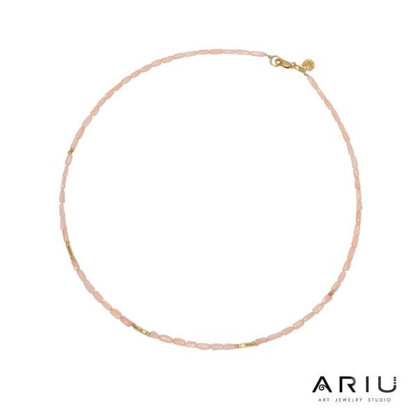 Ariu Collection - Rose Necklace