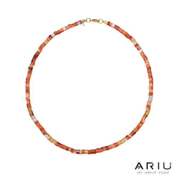 Ariu Collection - Mullupish Necklace