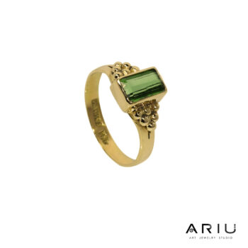 Ariu Collection - Olive Ring