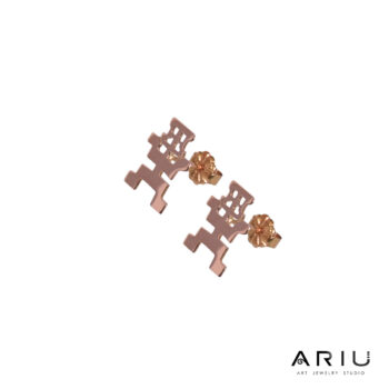 Ariu Collection - Meditating Shaman Earrings