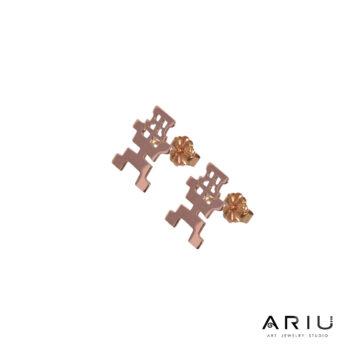 Ariu Collection - Meditating Shaman Earrings