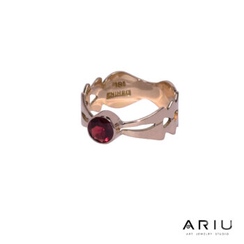 Ariu Collection - On Fire Ring