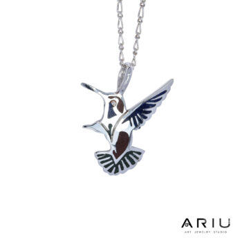 Ariu Collection - Hummingbird Pendant