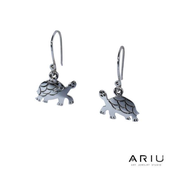 Ariu Collection - Galápagos Turtle Earrings