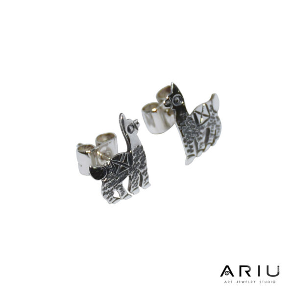 Ariu Collection - Kushilla Lama Earrings