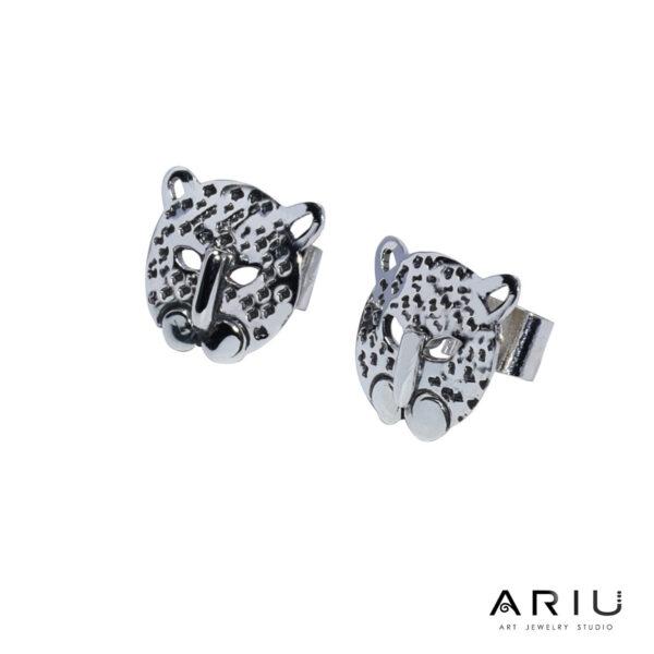 Ariu Collection - Jaguar Earrings