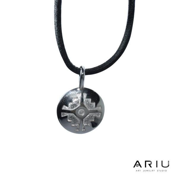Ariu Collection - Andean Cross Pendant