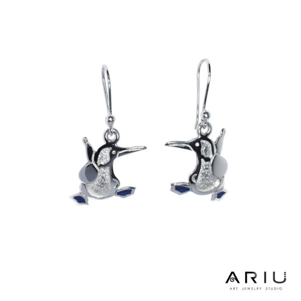 Ariu Collection - Blue Footed Booby Earrings