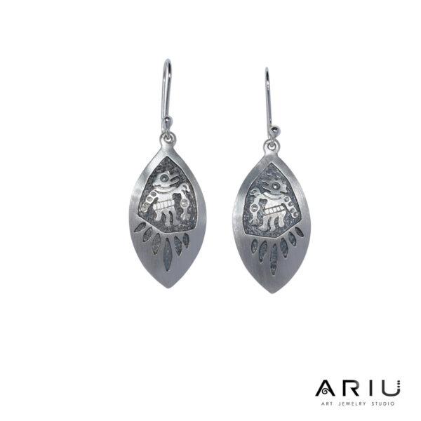 Ariu Collection - Shaman Earrings