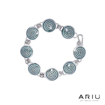 Ariu Collection - Spiral Bracelet