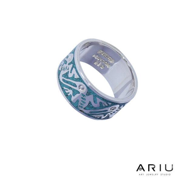 Ariu Collection - Pelicans Ring