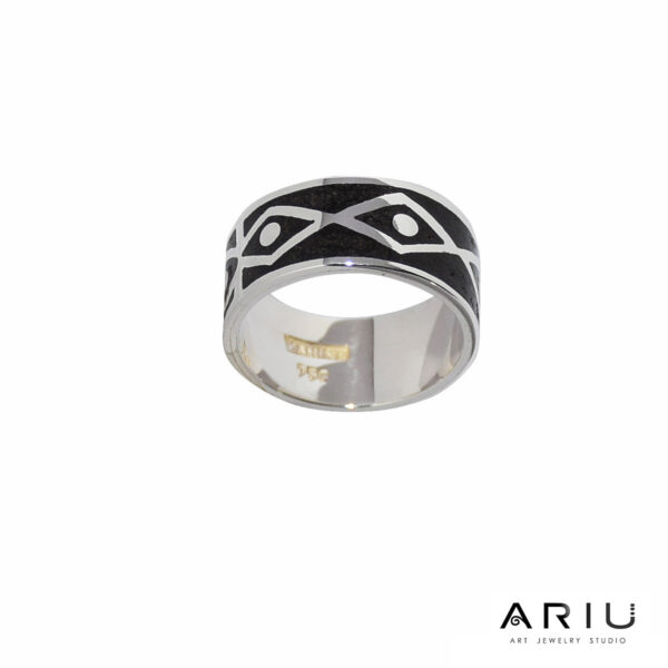 Ariu Collection - Structure Breakdown Ring