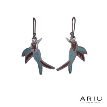 Ariu Collection - Hummingbird Earrings
