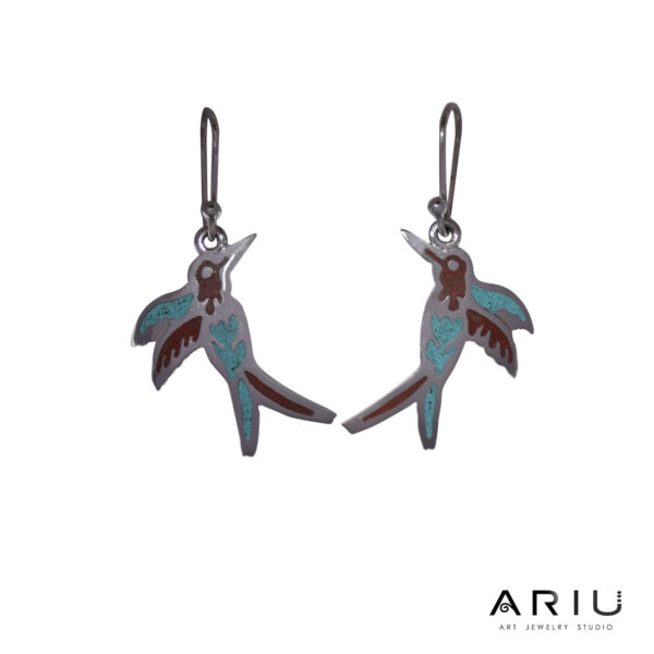 Ariu Collection - Hummingbird Earrings